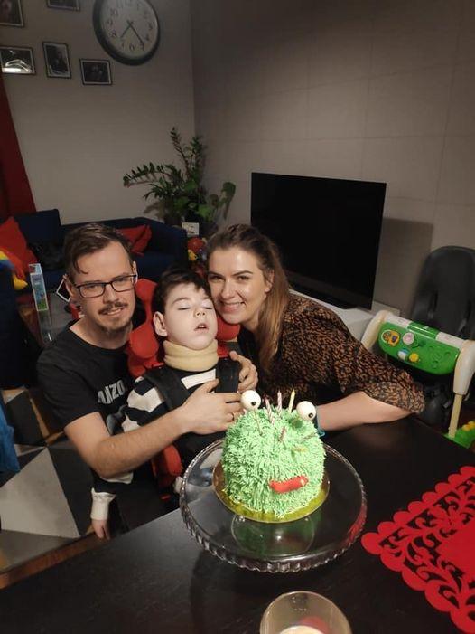 Fundacja Między Niebem a Ziemią - aktualność Urodziny Pawełka
