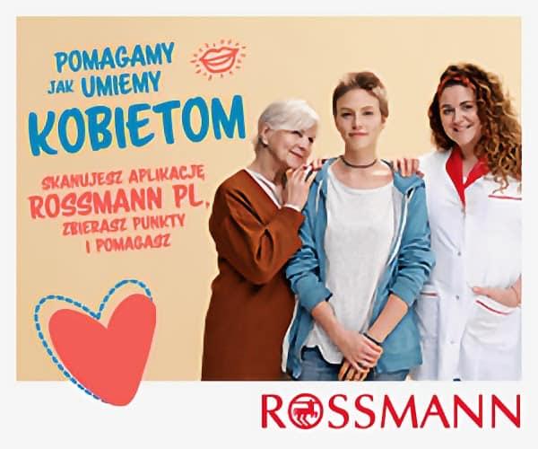 Fundacja Między Niebem a Ziemią - aktualność Pomagamy jak umiemy kobietom- Rossmann